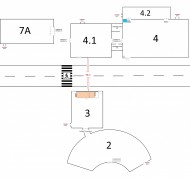 Общая схема павильонов 2020