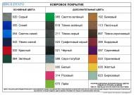 Цветовая палитра ковролина